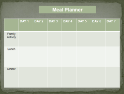 meal planner 7